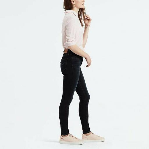 Levi's 720 High Rise Super Skinny Jeans 52797 0094 Vaquero mujer [3]