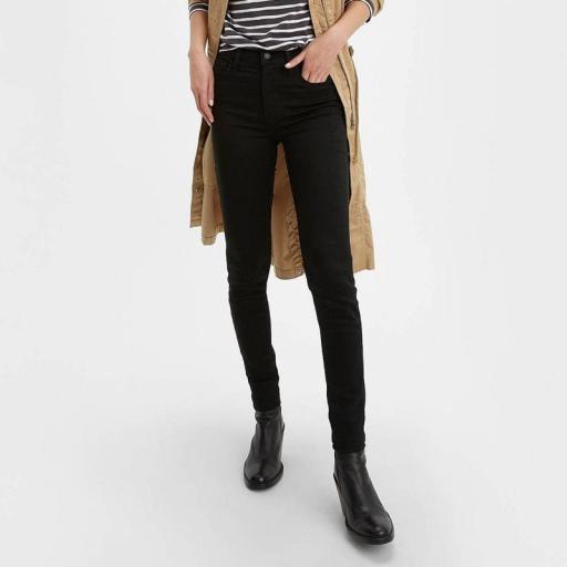 Levi's 720 High Rise Super Skinny Jeans Black Celestial 52797 0000 [2]