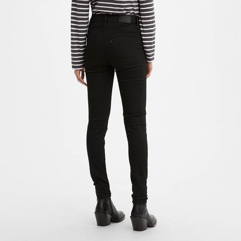 Levi's 720 High Rise Super Skinny Jeans Black Celestial 52797 0000