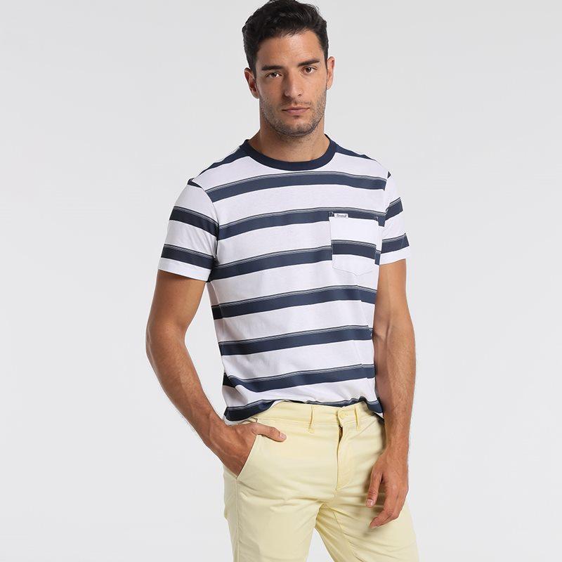 Bendorff Camiseta hombre listada 8250685