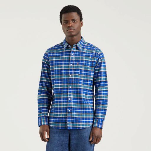 Levi's ® Sunset 1 Pocket Shirt - Mazaska Surf Blue. 857460051. Camisa hombre