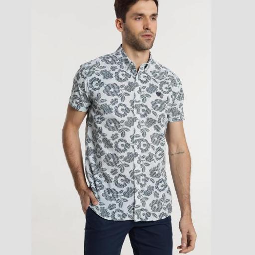 Bendorff Camisa estampada hombre 118322