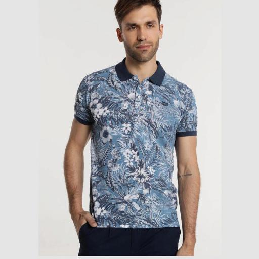 Bendorff Polo Print Tropical 117997