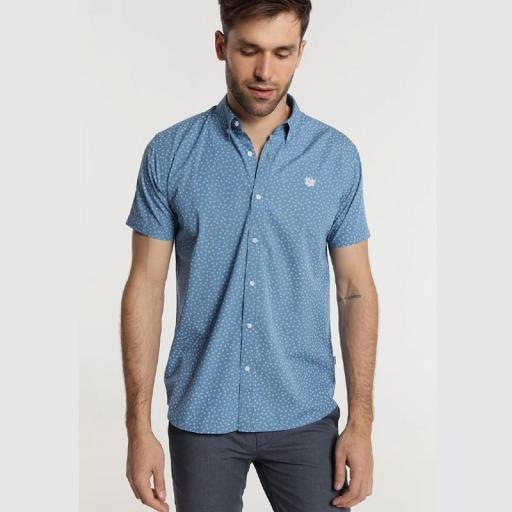Bendorff Camisa estampada hombre 118326