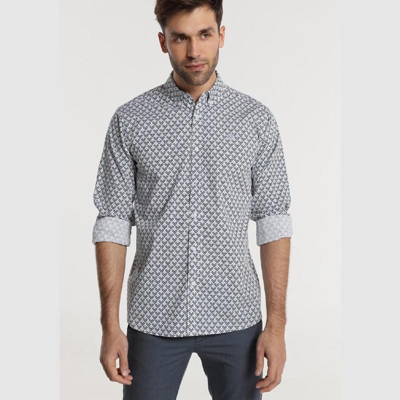 Bendorff Camisa estampada hombre 118673