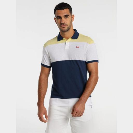 lois Jeans Polo Bastian Gold 131543303 401
