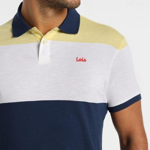 lois Jeans Polo Bastian Gold 131543303 401 [2]