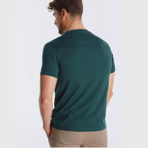 Lois Jeans Camiseta Boris Gary verde 120309 [1]