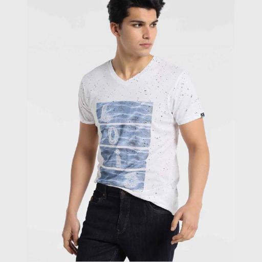 Lois Jeans Camiseta Cooler Vneck 120950