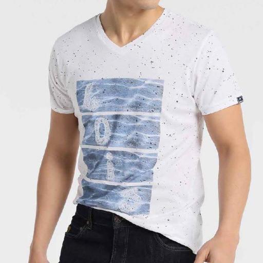 Lois Jeans Camiseta Cooler Vneck 120950 [3]