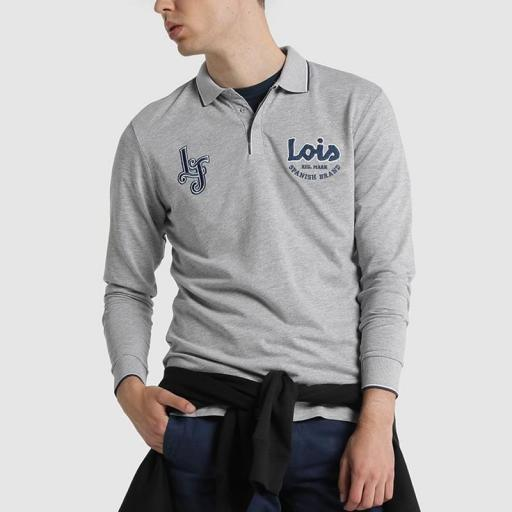 Lois Jeans Polo Elthon Elios gris [3]