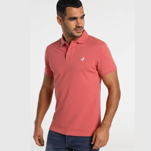 Lois jeans Polo Filipo Coral