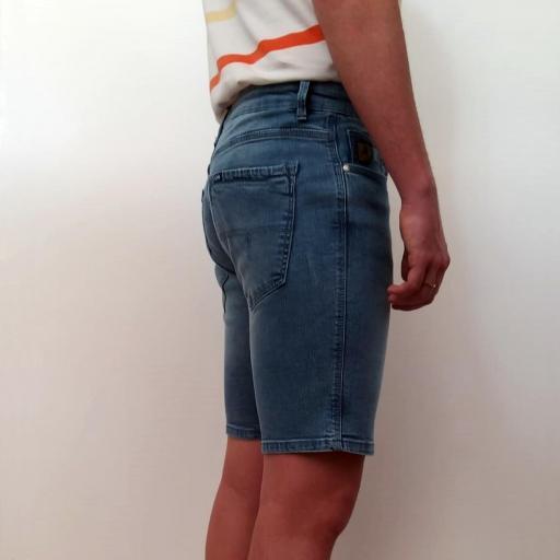 Lois Jeans Pantalón Corto Marvin Slim Short Fergus 118571 [2]