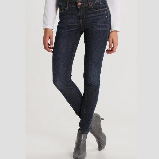 Lois Jeans Pantalón Denim Mujer Lua Ankle Minerva 119490 [2]