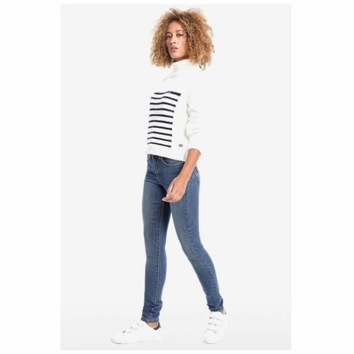 LOIS JEANS Pantalón denim LUA PUSH UP MIA