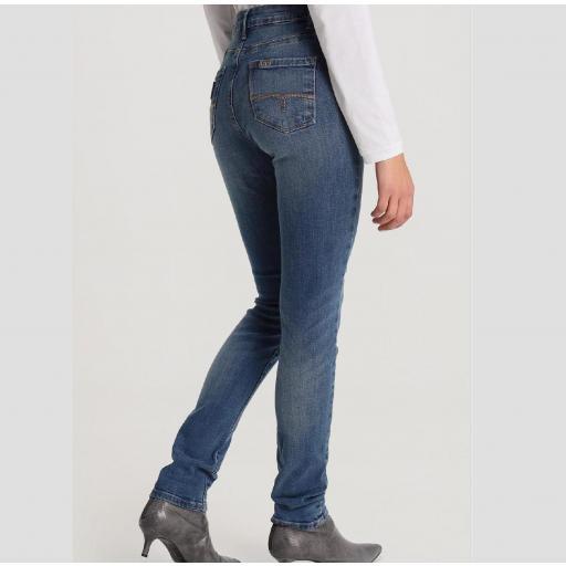 Lois Jeans Pantalón Denim Mujer Lua Zennet Medium 119512 [2]