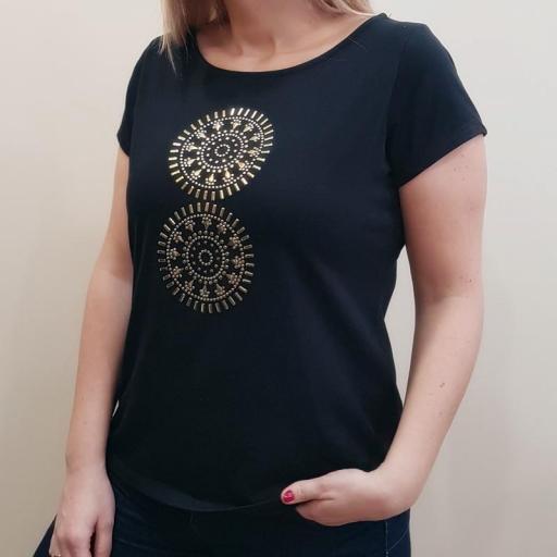 Cottonissimo Camiseta Mandalas [1]