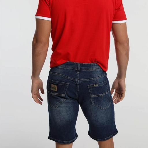 Lois Jeans Pantalón Denim hombre Marvin Corto Geranit 118424 [1]