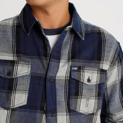 Lois Jeans Camisa hombre Ora Tommy 119532 [1]