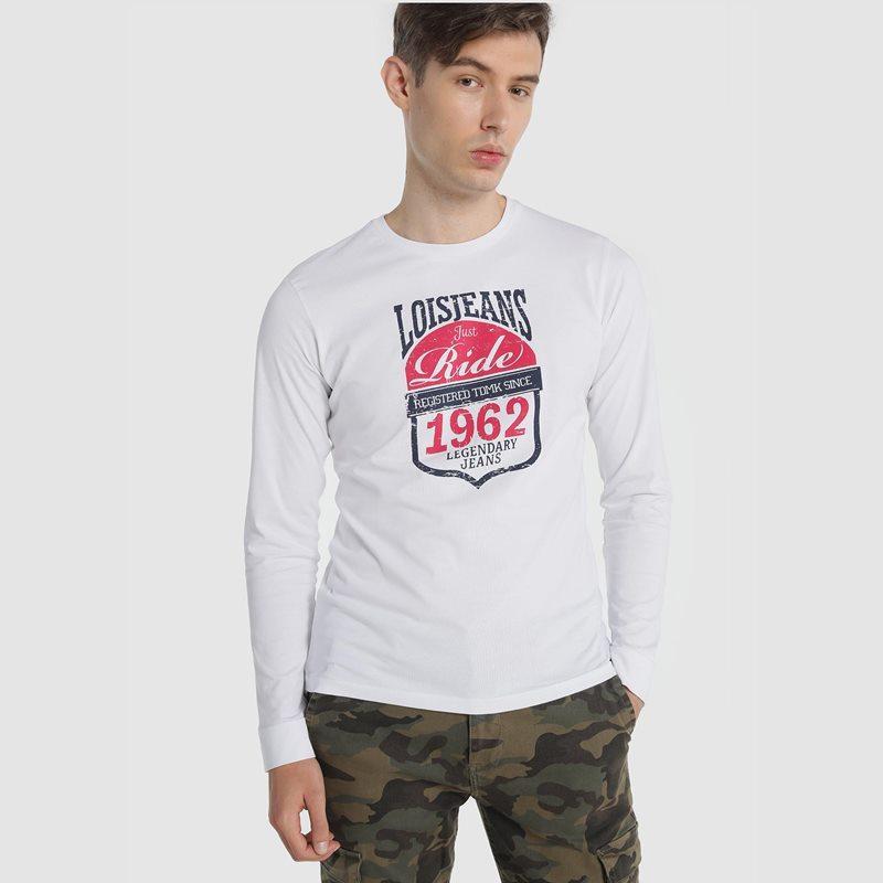 Lois Jeans Camiseta Ride Son Blanco 117665