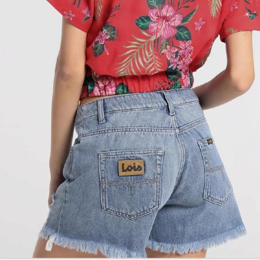 Lois Jeans Short Vaquero Zoeva Bache 121294