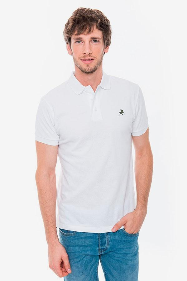 LOIS JEANS Polo Filipo Classic blanco. 121554