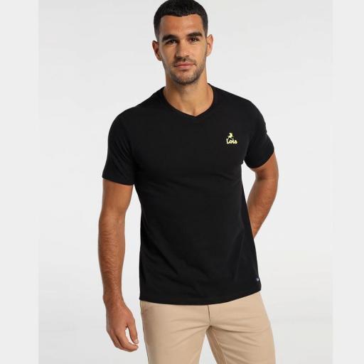 Lois Jeans Camiseta hombre Haisa Biff negra 155563742