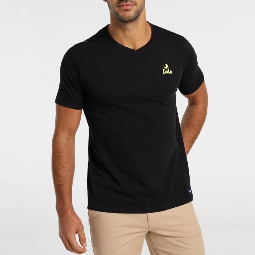 Lois Jeans Camiseta hombre Haisa Biff negra 155563742 [2]