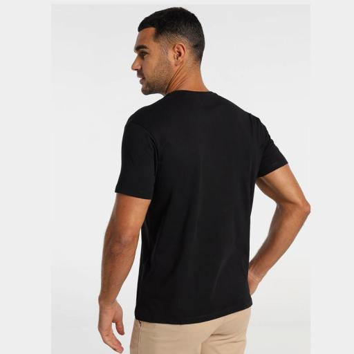 Lois Jeans Camiseta hombre Haisa Biff negra 155563742 [1]