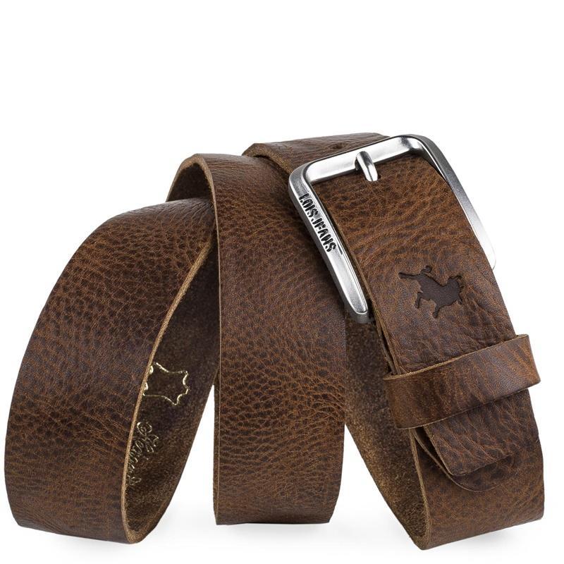 Lois Jeans Cinturón Logo Grabado marrón 501013-21