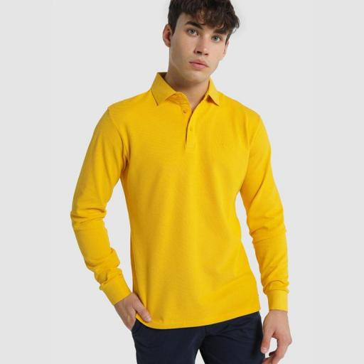 Lois Jeans Polo Water amarillo 117622