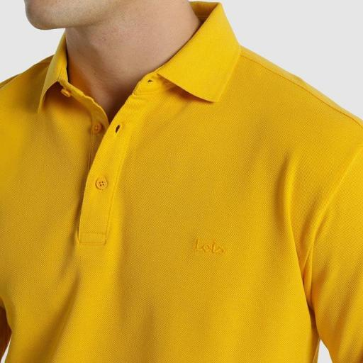 Lois Jeans Polo Water amarillo 117622 [2]