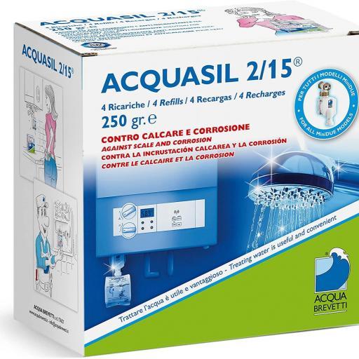 ACQUASIL 2/15 4x 250gr recambio para Minidue [0]