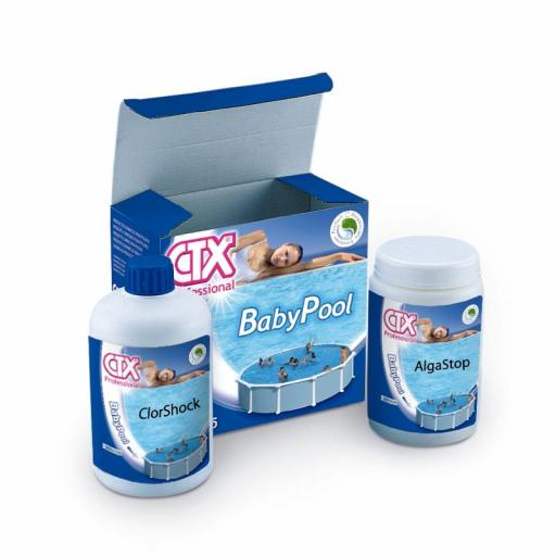 Kit mantenimiento piscinas infantil CTX-205 Baby Pool