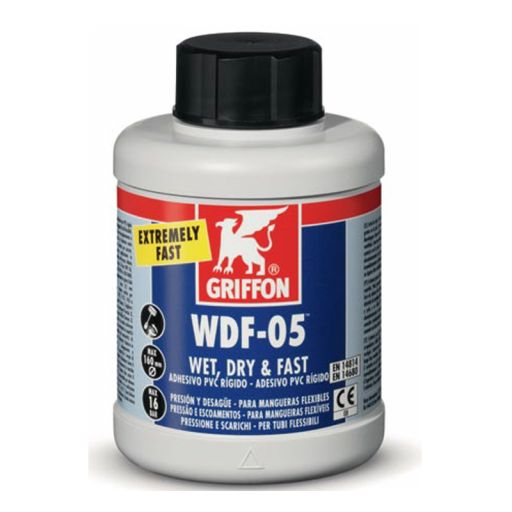 Adhesivo Rápido para PVC Griffon WDF-05