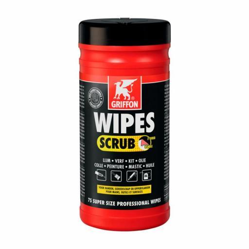Toallitas limpiadoras Griffon Wipes Scrub