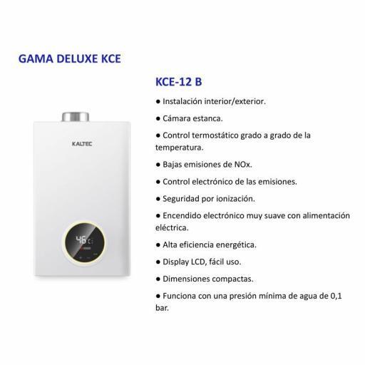 Calentador Estanco Gas butano Bajo nox Kaltec 12l. [1]