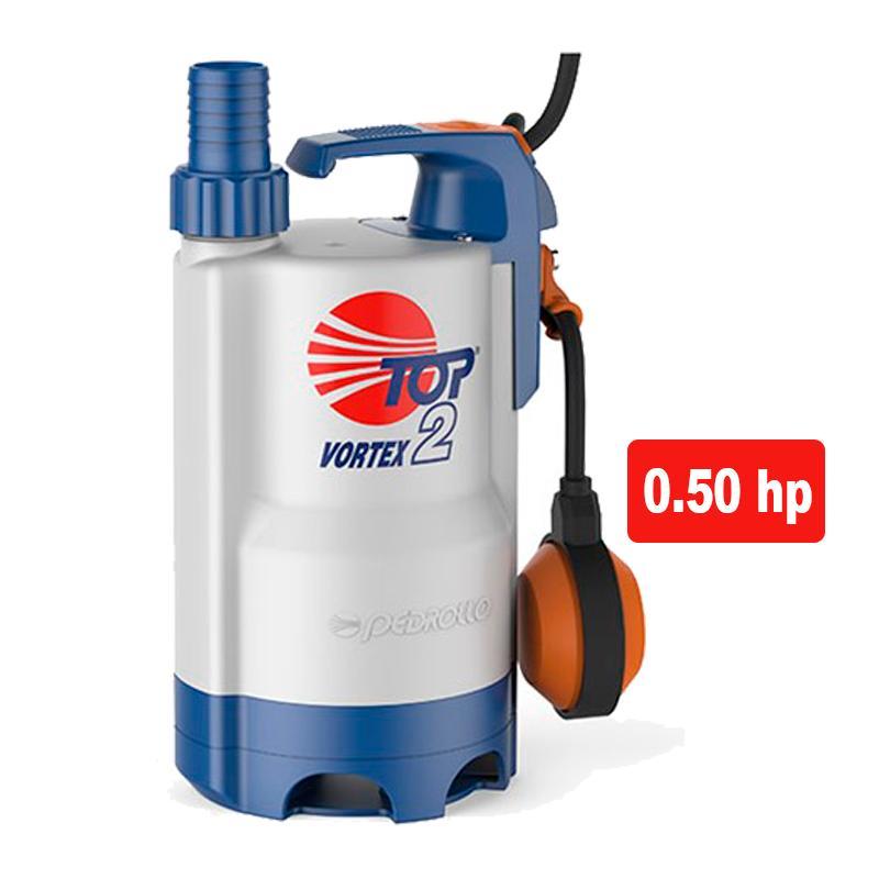 Pedrollo Top Vortex - Bomba de achique aguas sucias