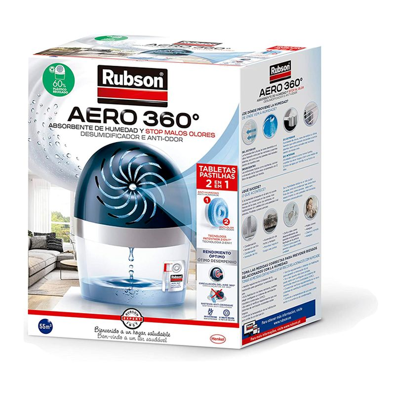 Deshumidificador Rubson Aero 360