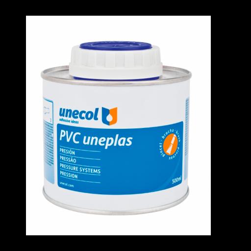 Adhesivo PVC Unecol Uneplas con pincel [1]