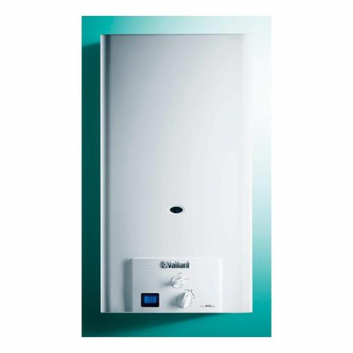 Calentador Estanco Gas natural bajo nox Vaillant turboMag pro