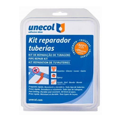 Kit Reparador Tuberías Unecol