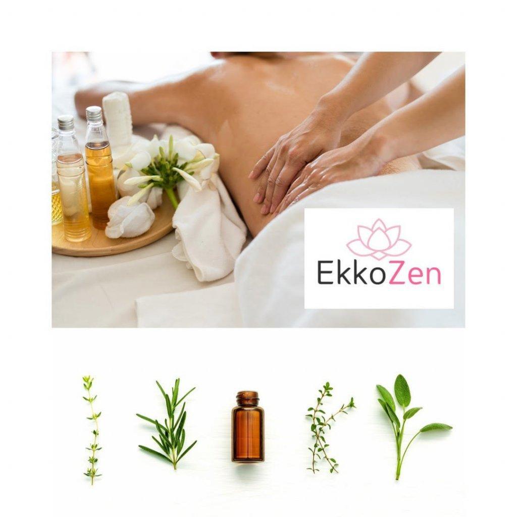 Masaje holístico aromaterapia