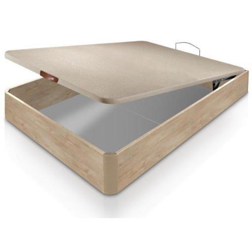 Canape Madera Konfort con base tapizada 3D