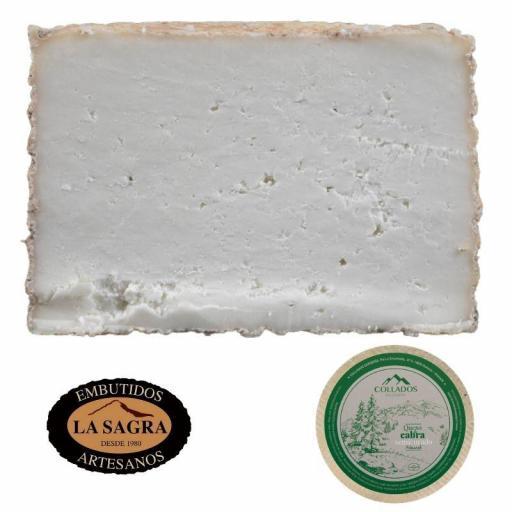 Queso De Cabra Semicurado Artesanal (850 Gr Aprox.) Collados [1]