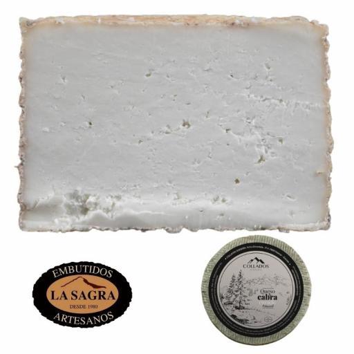 Queso De Cabra Curado Artesana Collados  (750 Gr Aprox.) [1]