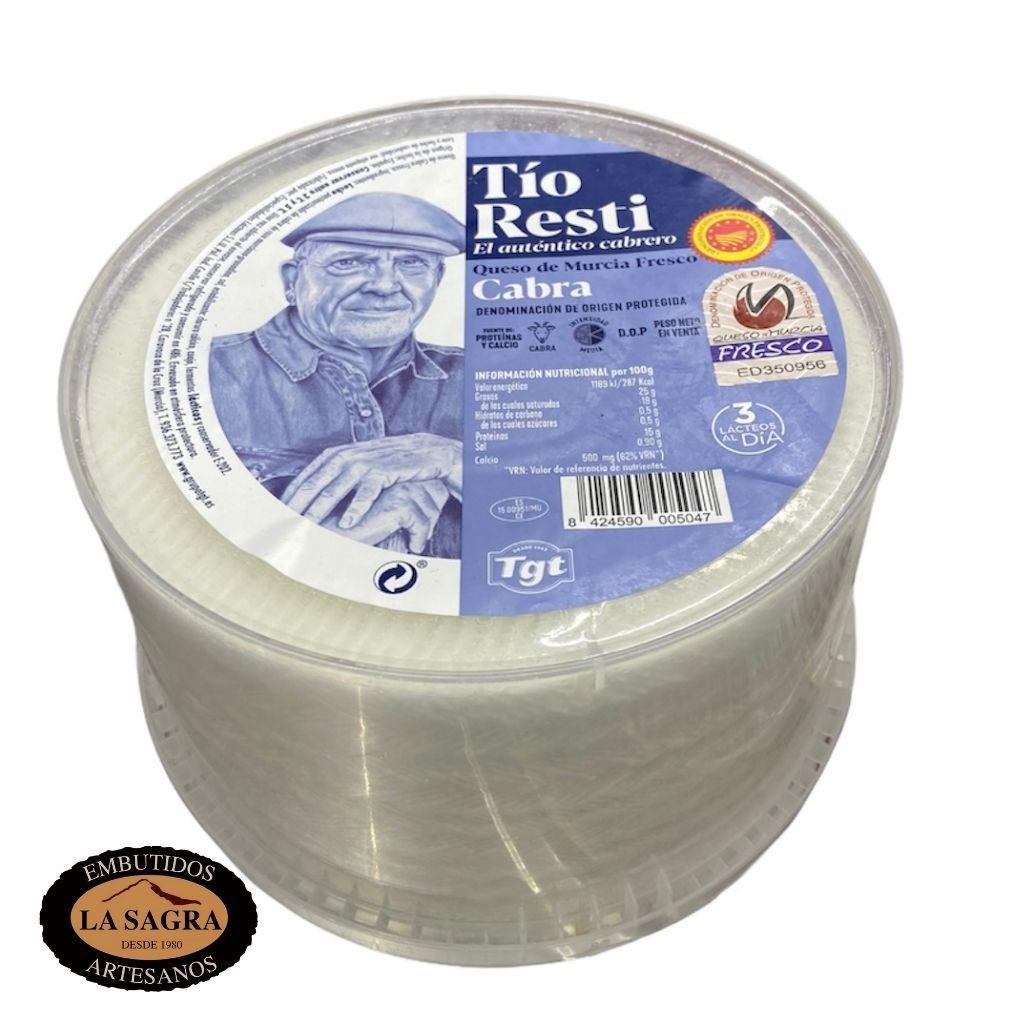 Queso Fresco Cabra 100% 1.05 kg Aprox.