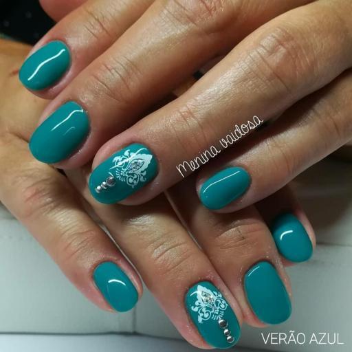 Esmalte Inocos *Verão azul* [1]