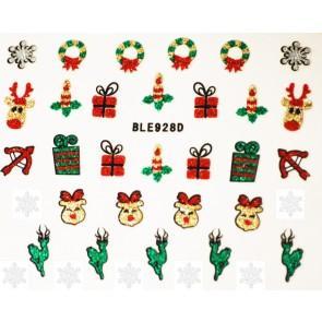 Stickers navideños ble928d