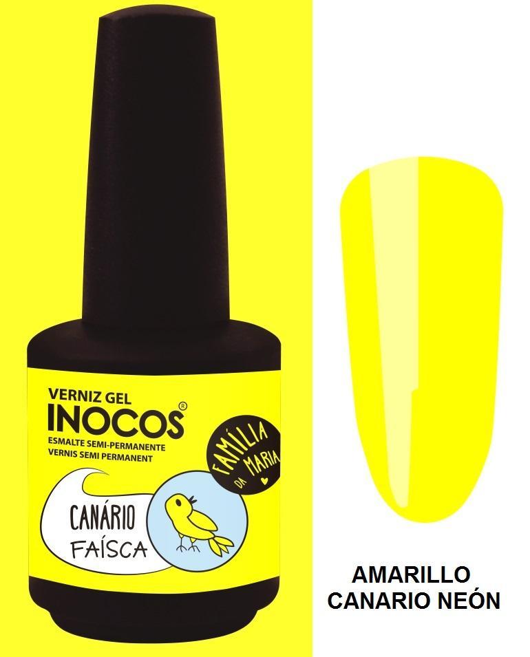 Esmalte Inocos *Canário Faísca*
